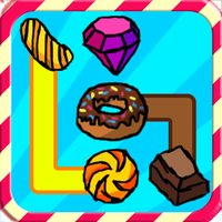 Jewel Candy Clash : Line Dash Puzzle Connect Game - by Cobalt Play Mania Games