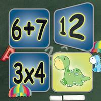Math Facts Card Matching Game