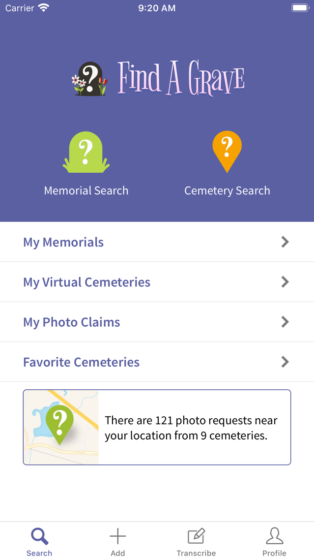 Find A Grave App for iPhone - Free Download Find A Grave for iPhone