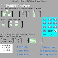 Matrix Math: Solving Equations