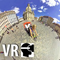 VR Cycle Rickshaw German City Virtual Reality 360