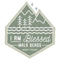 I Am Blessed Mala Beads Medita