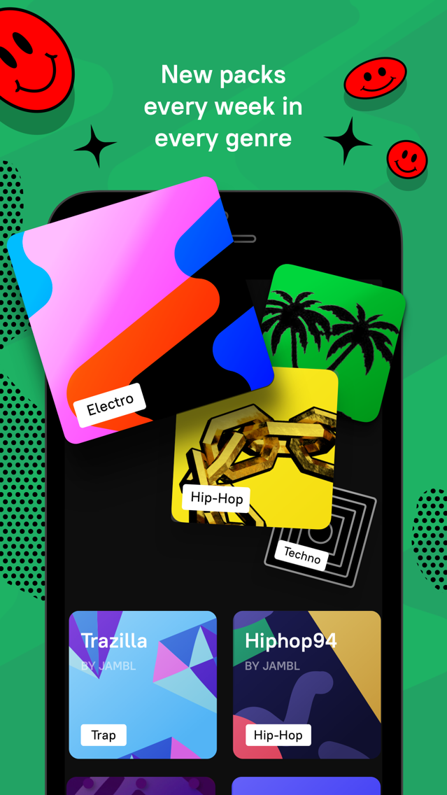 Jambl: Make Music & Beats Easy App for iPhone - Free