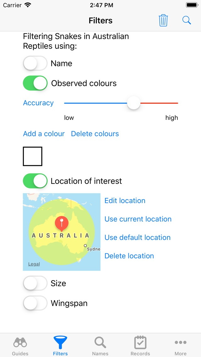 Australian Reptiles and Frogs App for iPhone - Free Download