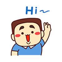 Hardy Boy - Animated Stickers Emoticons