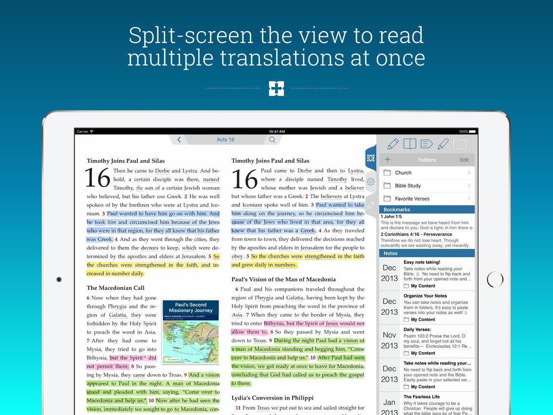 NIV Study Bible App for iPhone - Free Download NIV Study
