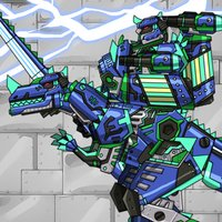 Combine! Dino Robot - Ceratosaurus