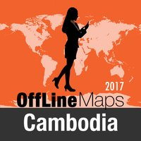 Cambodia Offline Map and Travel Trip Guide
