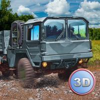 Army Truck Offroad Simulator 3D Full - Drive military truck!