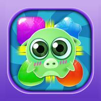 Piggy Checkpoints Free - Jelly Bubble Click