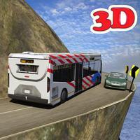 Tourister Bus driver 3D Parking: hill city