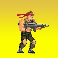 Commando Sniper Shooting 2D 2015