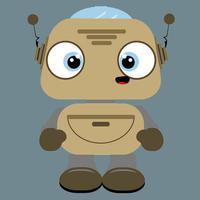 Kid's Robot Calculator