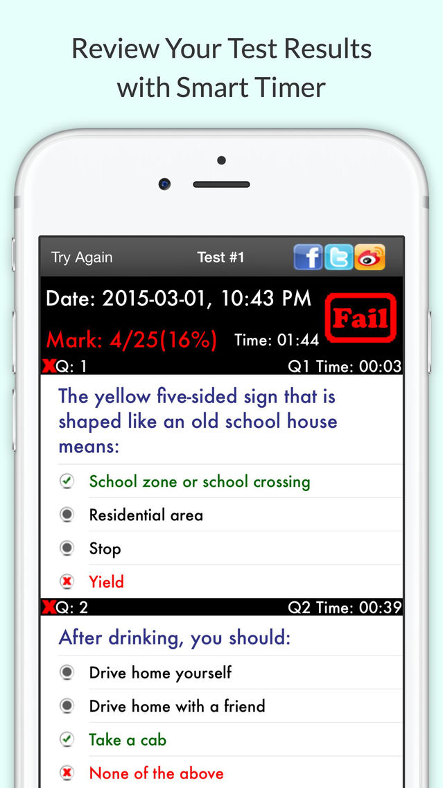 Permit Test Florida >> Florida Dmv Permit Test App For Iphone Free Download Florida Dmv