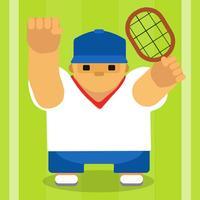Mr Fatty Tennis Champion