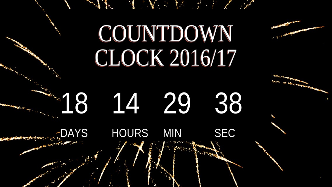 New Years Countdown Clock App For Iphone Free Download New Years Countdown Clock For Iphone Ipad At Apppure
