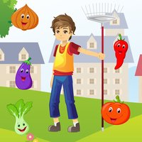 A Garden Party Kids Game: Learn With Many Tasks