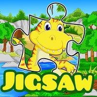Dino jigsaw puzzles 4 pre-k 2 to 7 year olds games