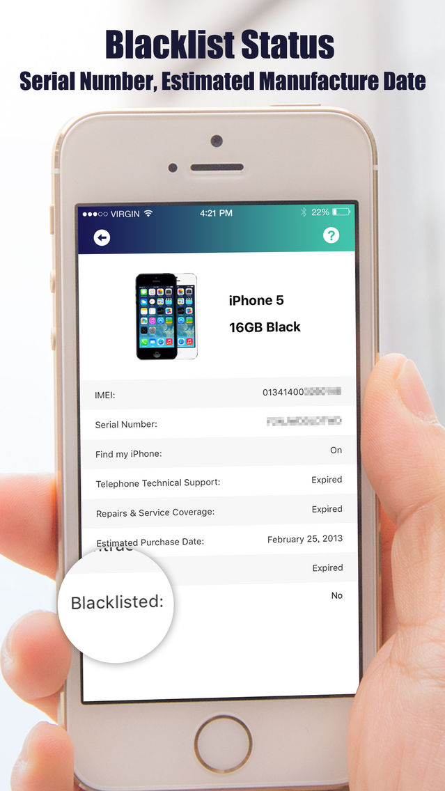 IMEI Checker - Check IMEI Number Pro App for iPhone - Free Download