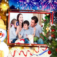 Merry Christmas Photo Fram-xmas selfie elfyoursel