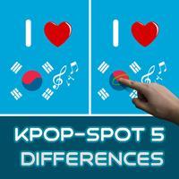 Kpop - Spot 5 Differences