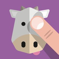 Farm Animals — See, hear, touch & tap the animals. For babies & kids aged 0-3 years.
