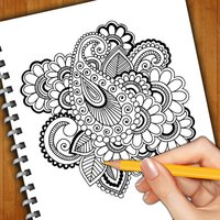 Learn How To Draw Henna Tattoo