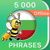5000 Phrases - Learn Bulgarian Phrasebook Offline