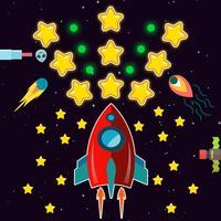 Magic Rocket Shooter - Sky Fighter Reloaded