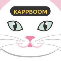 Cute Cat Face Emojis by Kappboom