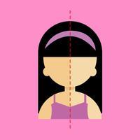 Face symmetry maker: face scan