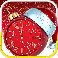 2016 Christmas Clock Countdown Timer-Snow Globe Xmas day counter