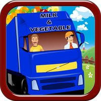 Farm Food Delivery Runner Jumpy Race Frenzy - Rival Bounce Fruit Racing Saga Free