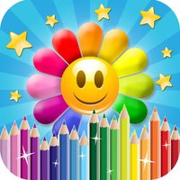 Flower Mania Drawing Pad - Paint, Draw & Doodle HD