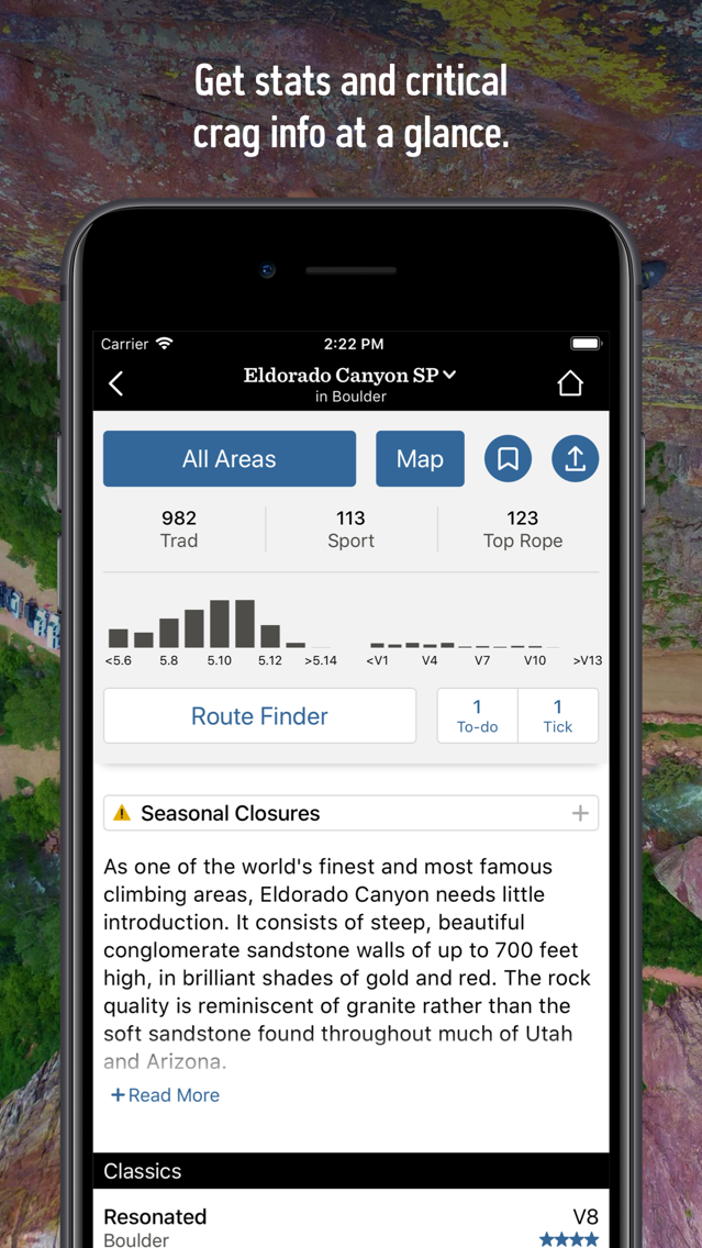 Mountain Project App for iPhone - Free Download Mountain