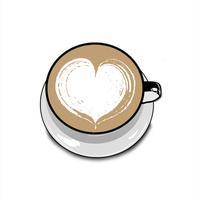 Latte Art Stickers