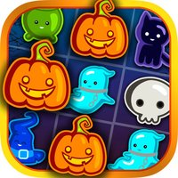Cats & witches Halloween crush bubble game of zombies