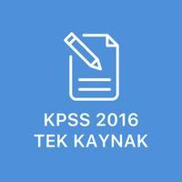 KPSS 2016 Tek Kaynak
