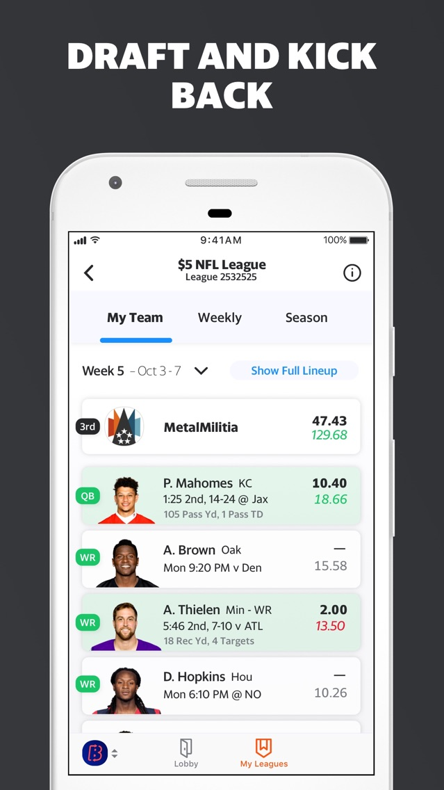 Yahoo Fantasy Football & more App for iPhone - Free Download