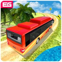 Elevated Bus Parking : Hill Station Bus Drive Game