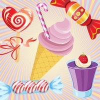 Candy & Cake Match Kids Games