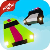 Police Chase 3D : Blocky Evade