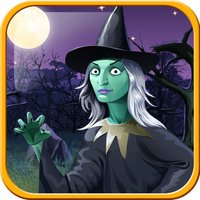 Witch vs Green Bubble Head Zombies
