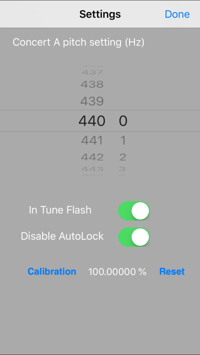 Tiara Chromatic Tuner App for iPhone - Free Download Tiara