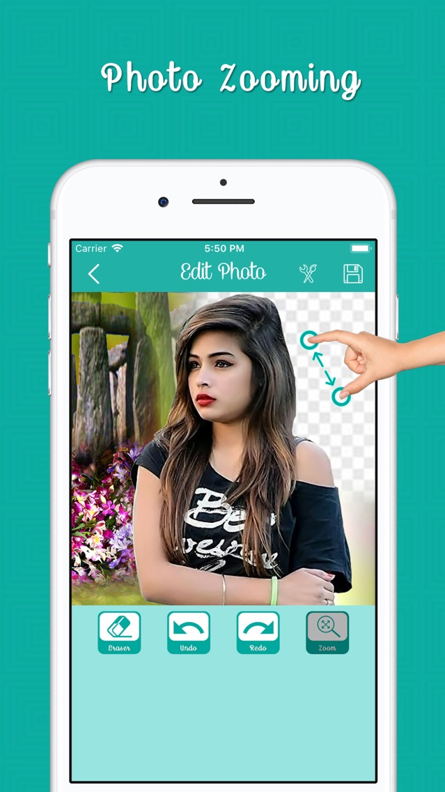 Cut Paste Photo Maker On Video App for iPhone - Free