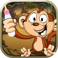 Cute Baby Monkey Can't Swing FREE - Crazy Animal Jungle Adventure