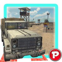 Army Trucks Emergency Parking : Battle-Ground  Rumble. Play Real Redline Game