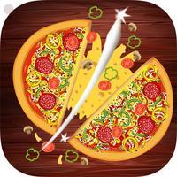 Pizza Ninja - Be Ninja & Cut pizza top free games
