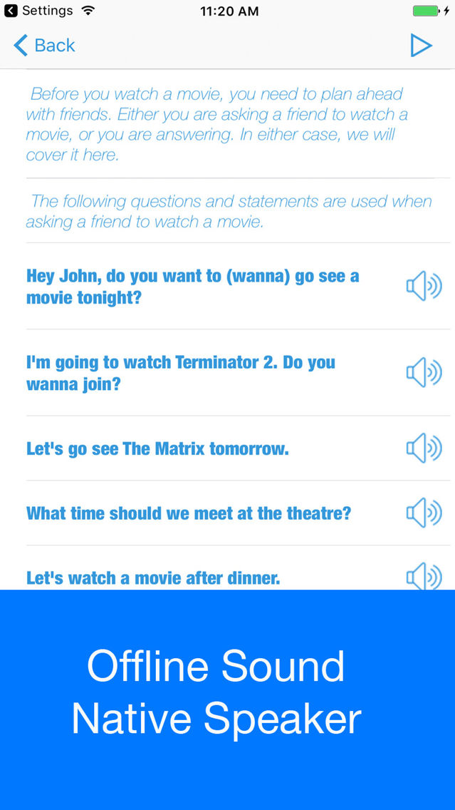 Daily English Section 1 App for iPhone - Free Download Daily