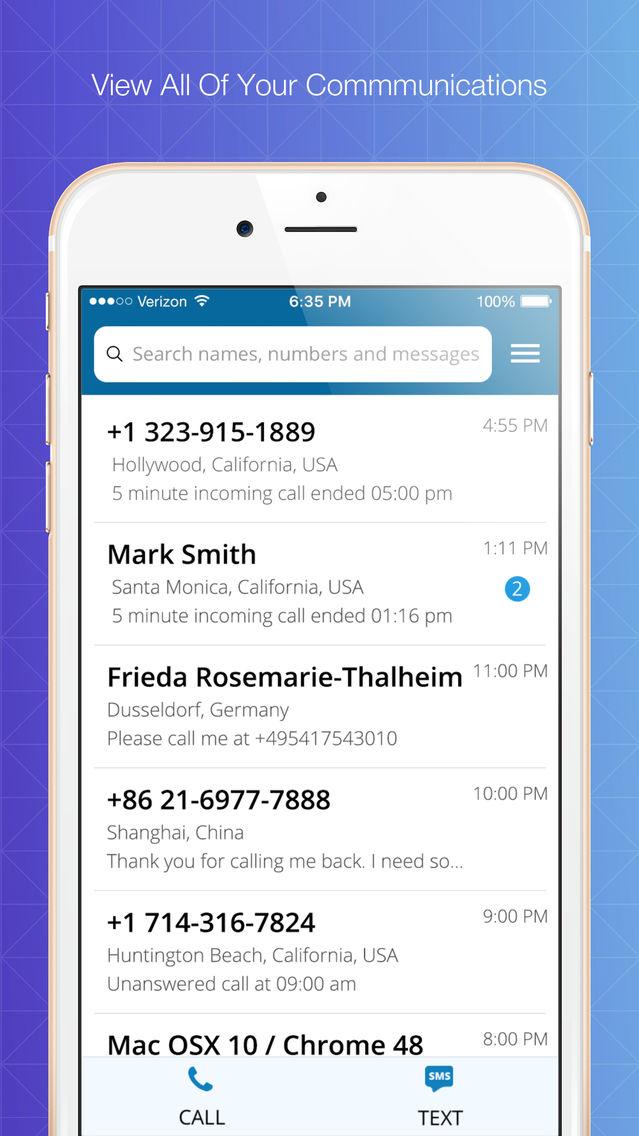 Virtual Phone App for iPhone - Free Download Virtual Phone